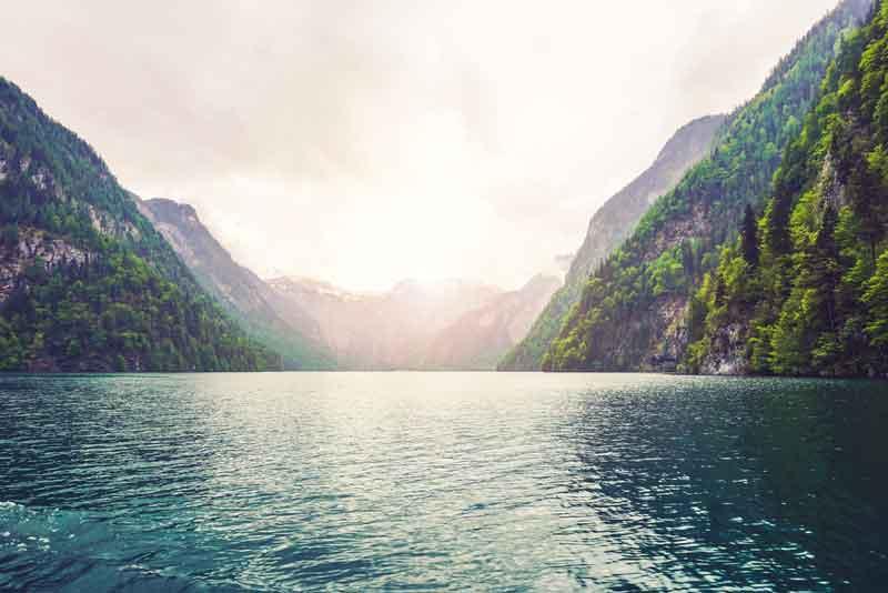 ケーニヒス湖画像