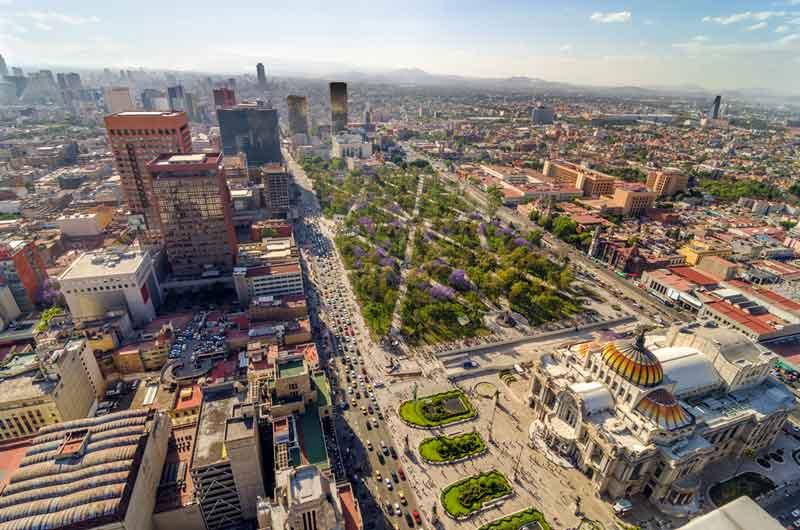 メキシコシティ画像