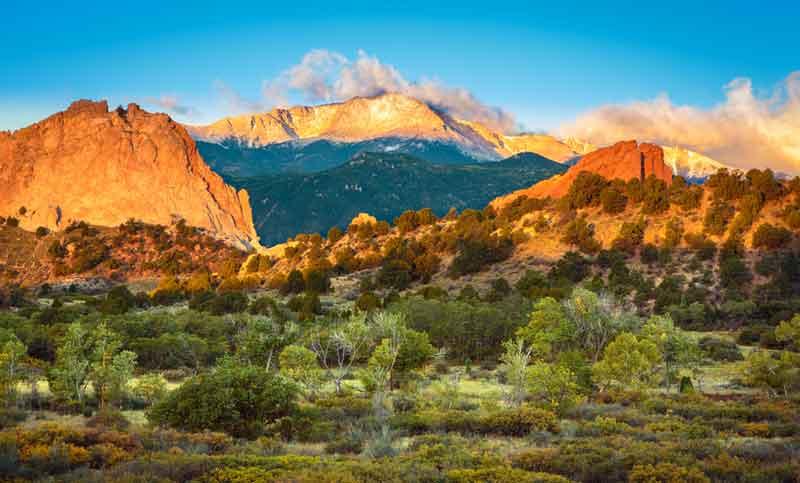 コロラドスプリングス画像