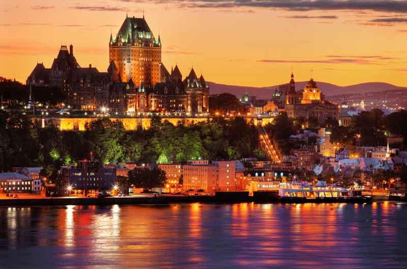 ケベックシティ画像