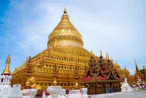 ミャンマー寺院画像