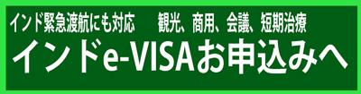 インド緊急渡航にも対応 インドe-VISAについて